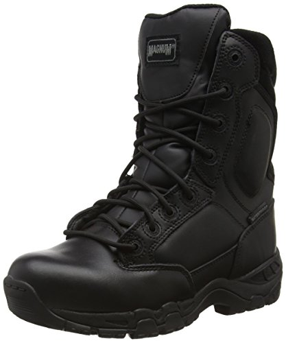 Magnum Viper Pro 8.0 Leather Waterproof, Stivali da Lavoro Unisex - Adulto, Nero (Black 021), 44 EU