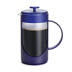 BonJour 8-Cup Ami-Matin French Press- Azure Blue BonJour 8-Cup Ami-Matin French Press- Azure Blue by BONJOUR