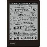 シャープ 電子ノート WG-N20B(ブラック)