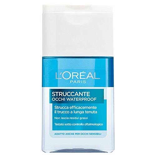L'Oréal Paris Struccante Occhi Waterproof Strucca Efficacemente il Trucco a Lunga Tenuta, 125 ml