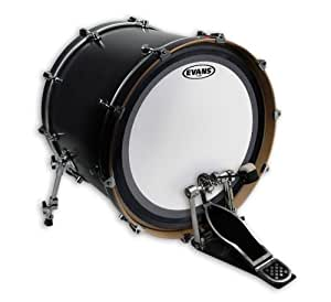 evans emad coated white bass drum head 20 inch musical instruments. Black Bedroom Furniture Sets. Home Design Ideas