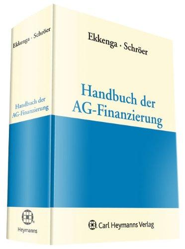 Handbuch der AG Finanzierung