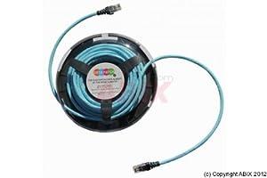 Patchsee Patchkabel RJ45 Deskpatch CAT6a FTP 5m blau