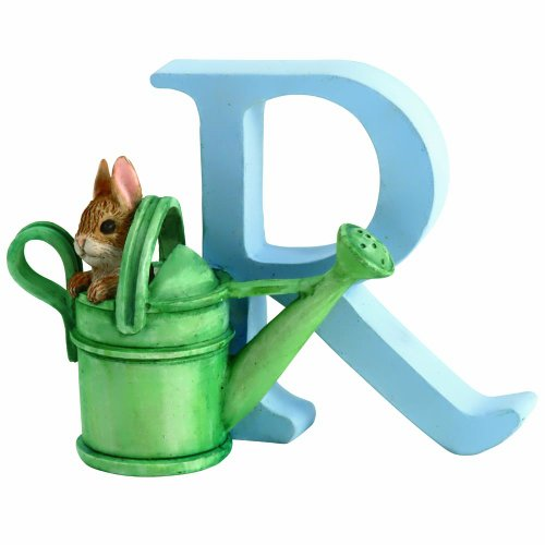 Peter Rabit And Friends Beatrix Potter - Alphabet Letter - R - Peter Rabbit In Watering Can front-136621