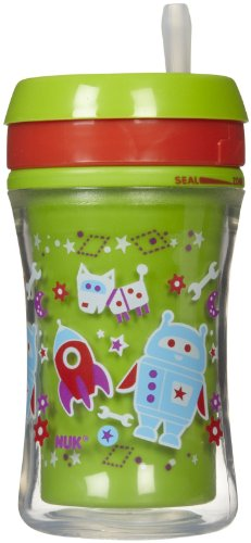 NUK Gerber Graduates Advance w/Seal Zone Insulated Straw Cup - 6+ months - 9 oz - 1