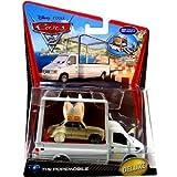 Disney / Pixar CARS 2 Movie 155 Die Cast Car Oversized Vehicle #9 Popemobile