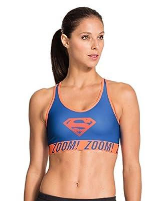 Under Armour Women's Alter Ego Pop Art Supergirl Sports Bra