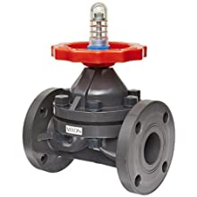 "Hayward PVC Diaphragm Valves, FPM Seal, 2"" Flanged"