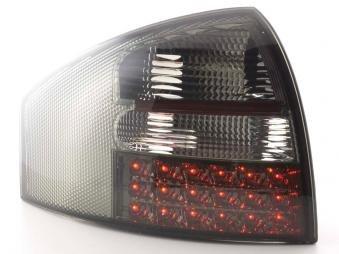 Led Taillights Audi A6 Limousine Typ 4B Yr. 97-03 Black