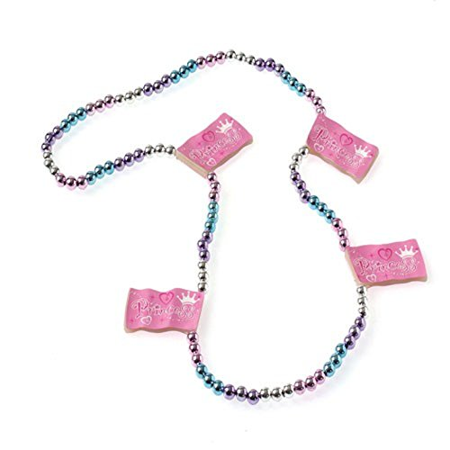One Princess Flag Design Beaded Necklace