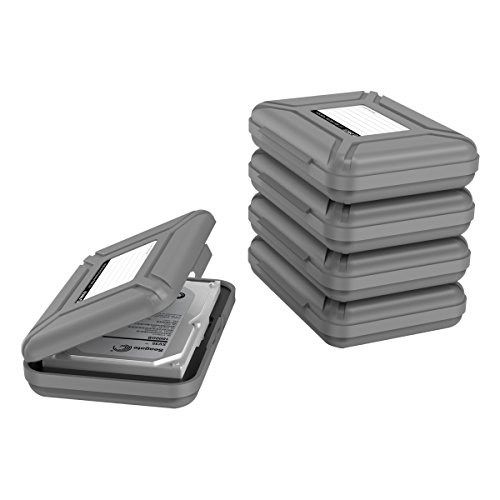 orico-portable-5-bay-35-inch-hard-drive-disk-protective-box-storage-case-cover-gray