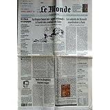 MONDE (LE) [No 16213] du 12/03/1997 - LA FRANCE LANCE UN APPEL SOLENNEL A L'ARRET DES COMBATS AU ZAIRE - LES SALARIES...