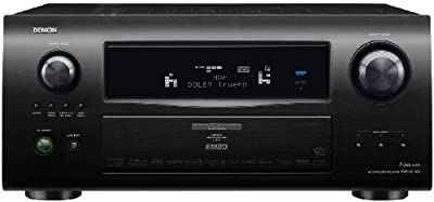 Denon AVR4810CI 9.3-Channel Multi-Zone Home Theater Receiver with Networking Capability and 1080p HDMI Connectivity from Denon