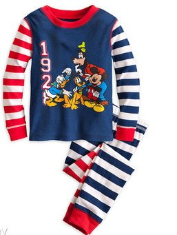 Disney Store Mickey Mouse And Friends Pajamas Size 2 Toddler front-1053143