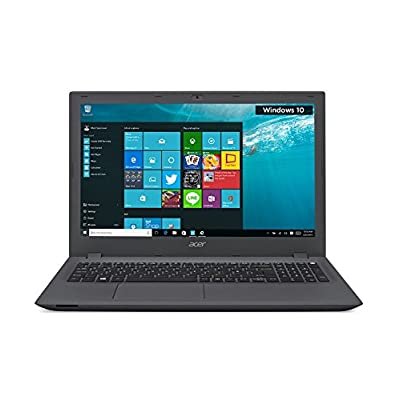 Acer Aspire E E5-573-36RP 15.6-inch Laptop (Core i3 5005U/4GB/1TB/Windows 10 Home/Intel HD 5500), Charcoal Grey