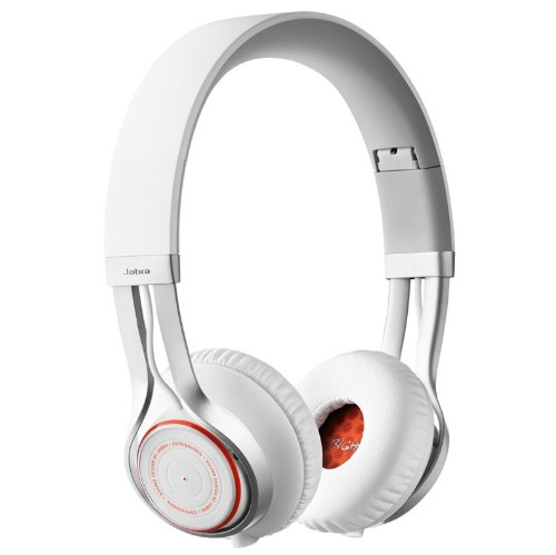 Jabra REVO Corded Stereo Headphones with 3-Button Microphone - White