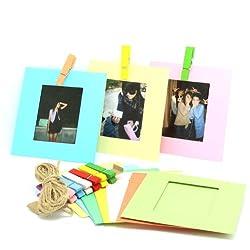 CAIUL 10 Different Colorful Film Decor Borders for Fuji Instax Mini 25 8 90 50s 7s Film