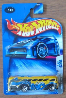 Hot Wheels 2004 Tag Rides 3/5 Surfin' S'Cool Bus YELLOW 140 - 1