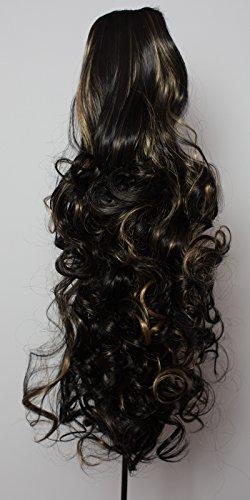 22-ponytail-curly-black-blonde-highlights-1b-h27