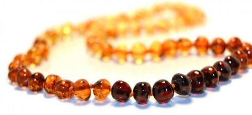 The Art of Cure Baltic Amber Necklace 17 Inch (rainbow) - Anti-inflammatory