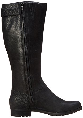 Rockport Women S Tristina Quilted Tall Riding Boot Black