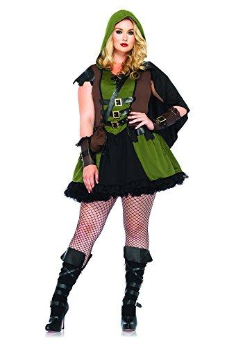 85281X - Darling Robin Hood Kostüm Set, 3-teilig, Größe 48-50, jägergrün