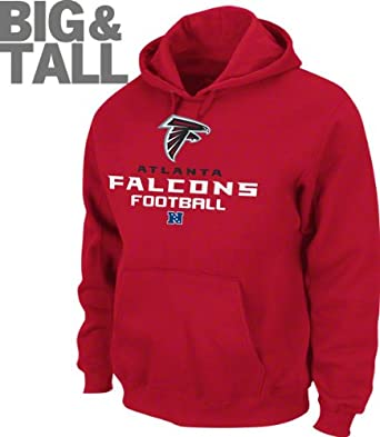 Atlanta Falcons Critical Victory V Hooded Sweatshirt, Big and Tall by NFL