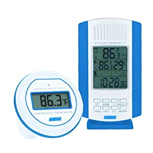 Wireless Digital Air and Water Thermometer - Frontgate