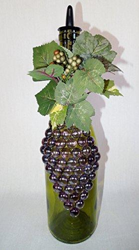 Dish Soap Dispenser, Vinegar, Olive Oil, Wine Bottle Tuscan Grape Design, Kitchen Decor (Wine Kitchen Soap Dispenser compare prices)