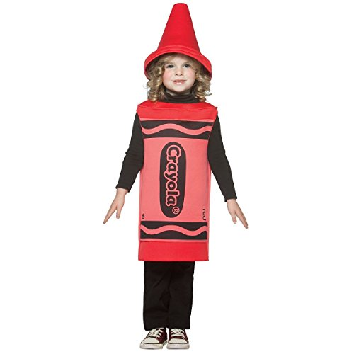 [GSG Crayon Costume Baby Halloween Fancy Dress] (Red Crayon Tank Dress Costume)