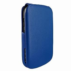 Piel Frama U621DB iMagnum Ledertasche für Blackberry Q10 blau
