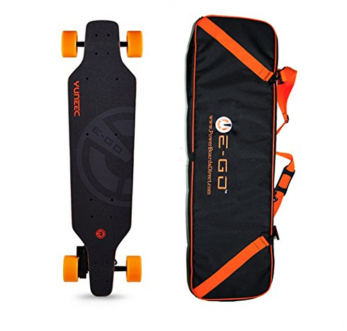 E-GO Electric Skateboard by YUNEEC with FREE Carry Travel Case