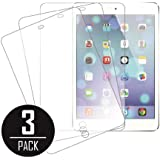 Mpero 3 Pack of Clear Films de protection écran pour Apple iPad mini