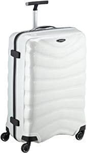 Samsonite Valise Firelite Spinner 75/28 75 cm 93 Liters Blanc Cassé (Off White) 48576
