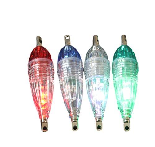LED 水中灯 強力集魚 夜間4色セット