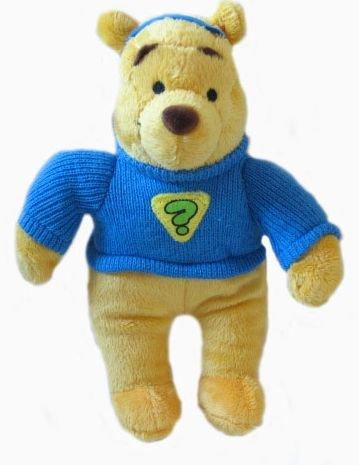 "Disney My Friend Tigger & Pooh 8"" Pooh Plush - 1"