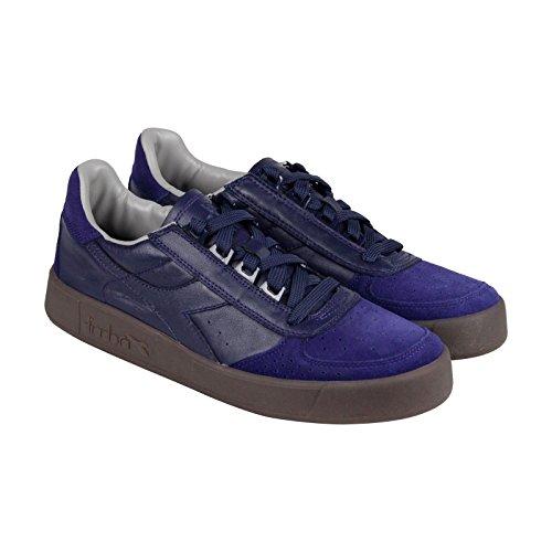 Diadora B. Elite S ITA Mens Blue Gray Suede/Synthetic Sneakers Shoes 9.5