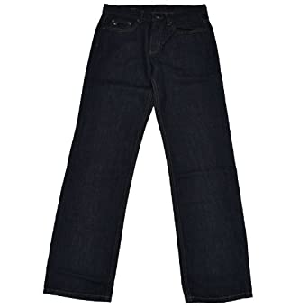Tommy Hilfiger Mens Tommy Fit Jeans (Rinsed Indigo, 29x30)