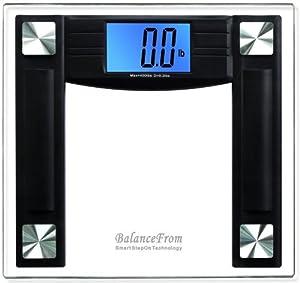 BalanceFrom High Accuracy Digital Bathroom Scale with 4.3