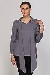 Kaaryah - Grey Full Sleeves Top