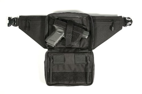 BLACKHAWK! Concealed Weapon Fanny Pack with Holster and Retention Belt Loops by BLACKHAWK!