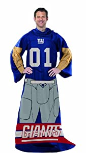 NFL New York Giants Full Body Player Comfy Throw by Northwest