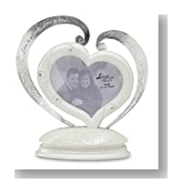 Little Things Mean A Lot Love Cake Topper Picture Frame, 5-Inch, Holds 3 by 3-Inch Photo