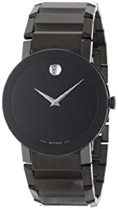 Movado Men's 606307 Black Steel Watch