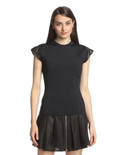 AS by DF Women's Rio Top with Leather Trim