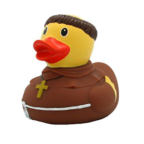 Lilalu 8 x 8 cm / 50 g di raccolta e Monk Bagnetto Toy Rubber Duck