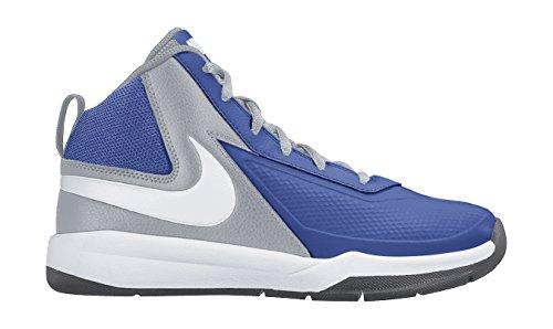 Nike Bambino Team Hustle D 7 (GS) Scarpe da basket Multicolore Size: 36 1/2