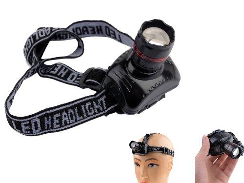 Lighting House High Power 3W 180 Lumens Led Headlamp Head Light Telescopic Zoom Dimming Head Torch Bicycle Camping Headlight