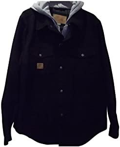 Buy Skechers Washed Canvas Jacket with Bib and Hood by Skechers