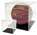 BallQube Grand Stand Basketball / Holder Acrylic Display Case (Soccer Balls / Volleyballs)